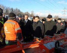 Штабні тренування за участю губернатора Київщини і Голови Укравтодору відбулися у Васильківському районі