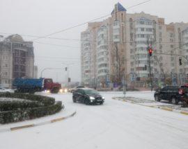 Буча, перехрестя вул. Б. Хмельницького і Нове шосе. Фото: О. Кравчук