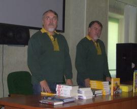 Брати Капранови привезли свої нові книжки до Білої Церкви