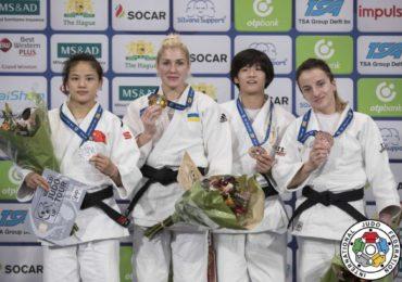 Українська дзюдоїстка Марина Черняк виборола «золото» на Гран-прі у Гаазі