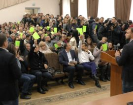 Оновлений Генплан Ірпеня — це узаконення тотальної забудови міста, за рахунок якої фінансуватиметься виборча кампанія відставного мера Володимира Карплюка до парламенту