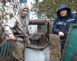 Женщина колодец Киевская область Згуровка