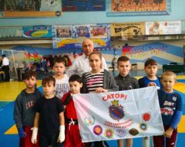 Бійці з Васильківщини привезли 7 медалей з фіналу Кубку України з ушу (саньда)