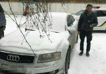 """У Коцюбинському поліція зупинила водія, який під """"наркотою"""" кермував краденою іномаркою"""