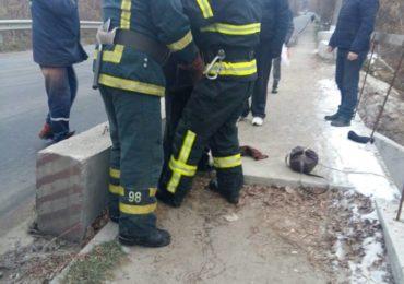 У Бучі рятувальники надали допомогу потерпілому, який упав з мосту через річку Рокач