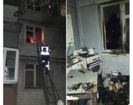 Броварські рятувальники ліквідували пожежу в квартирі