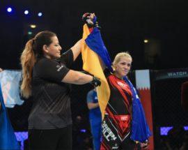 Українка вперше здобула золоту медаль на Чемпіонаті світу зі змішаних єдиноборств