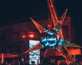 Лазерне шоу в Прип'яті: презентація нового арт-проекту