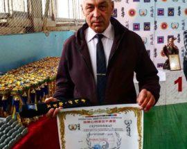 Найвище майстерське звання – перший дан із карате – отримав тренер із Васильківщини