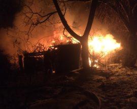 У Васильківському районі за один день трапилося дві пожежі
