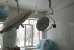 В операційну Васильківської лікарні закуплено нові сучасні лампи