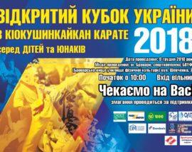 В Броварах пройде Кубок України з Кіокушинкайкан карате