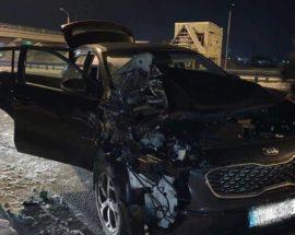 Погоня на дорозі: у Бучі затримали викрадача авто, який свідомо не уникнув зіткнення з автомобілем поліції