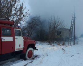 У Володарському районі на Київщині вогнеборці ліквідували пожежу у житловому будинку