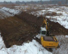 Нищення заплави: в Ірпені знову припинено розкрадання цінних торф'яних земель та заміну їх на будівельне сміття