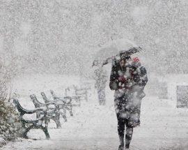 На Київщині очікуються снігопади та хуртовини