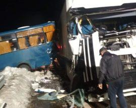 На трасах Київщини у ДТП за участю маршрутних автобусів постраждало 15 пасажирів