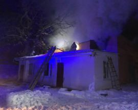 У Білій Церкві рятувальники ліквідували загорання столярного цеху