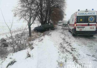 Київщина:водій не порався з керуванням і загинув на місці ДТП
