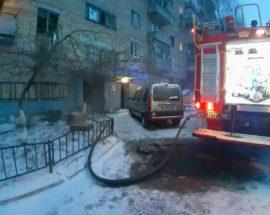 У Бородянці на Київщині ліквідовано пожежу в квартирі багатоповерхового будинку