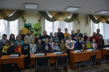 Петропавлівська Борщагівка: турнір з шахів, присвячений 100–річчю сільської ради -  - 1548659972 DSC 0069 350x233