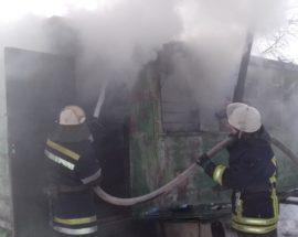 У Білоцерківському районі на Київщині ліквідовано загорання господарчого вагончика