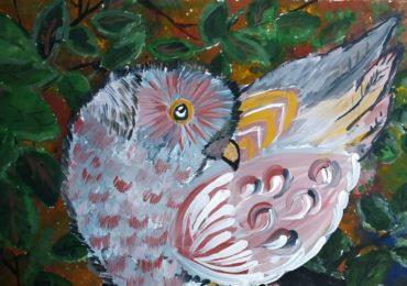 Діти з Василькова найкраще намалювали птаха 2018 року