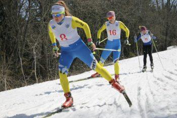 Юніори з Київщини здобули бронзу в чемпіонаті України з лижних гонок