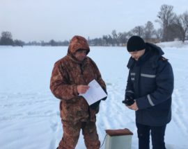 В Миронівському районі на Київщині рятувальники провели рейд по водоймах