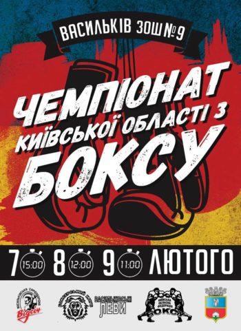 Чемпіонат Київської області з боксу пройде у Василькові