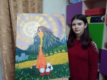 Фастівчанка виборола призове місце на обласній виставці учнівської творчості