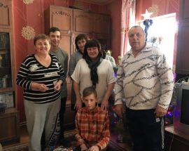 На Броварщині дітей-сиріт та дітей позбавлених батьківського піклування привітали з Різдвом Христовим!