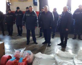Турбота про безпеку населення: рятувальники Броварщини отримали подарунки від керівництва району