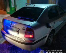 На Білоцерківщині патрульна поліція за 5 хвилин затримала викрадача автівки