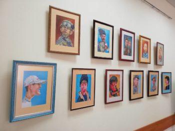 """Проект """"Видатні особистості нашого міста"""": у Броварах відбулася зустріч з талановитим художником-карикатуристом"""