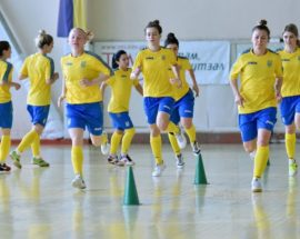 Жіноча збірна України з футзалу готується до матчів з Італією у Броварах