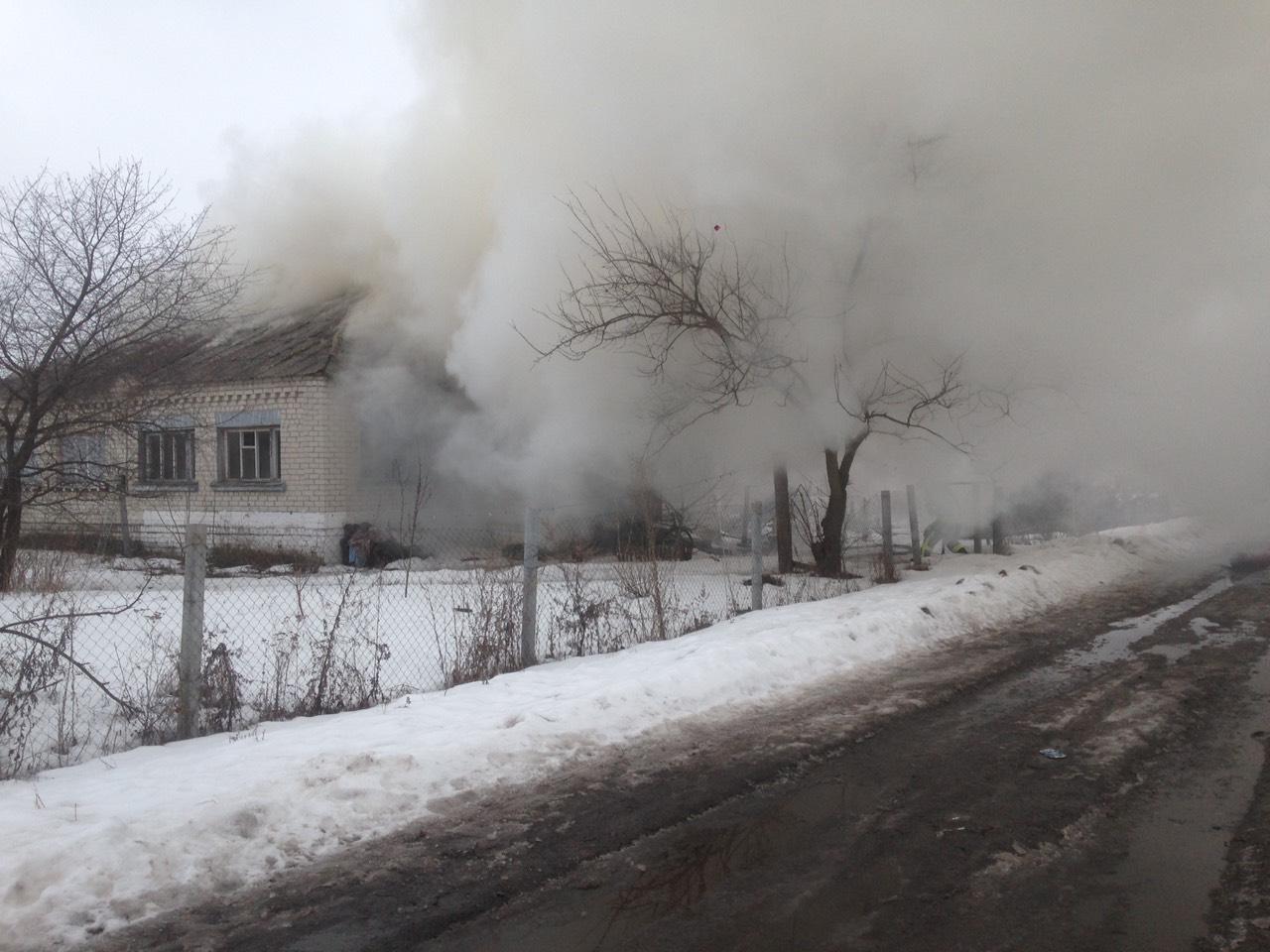На Кагарличчині з пожежі госпіталізовано чоловіка