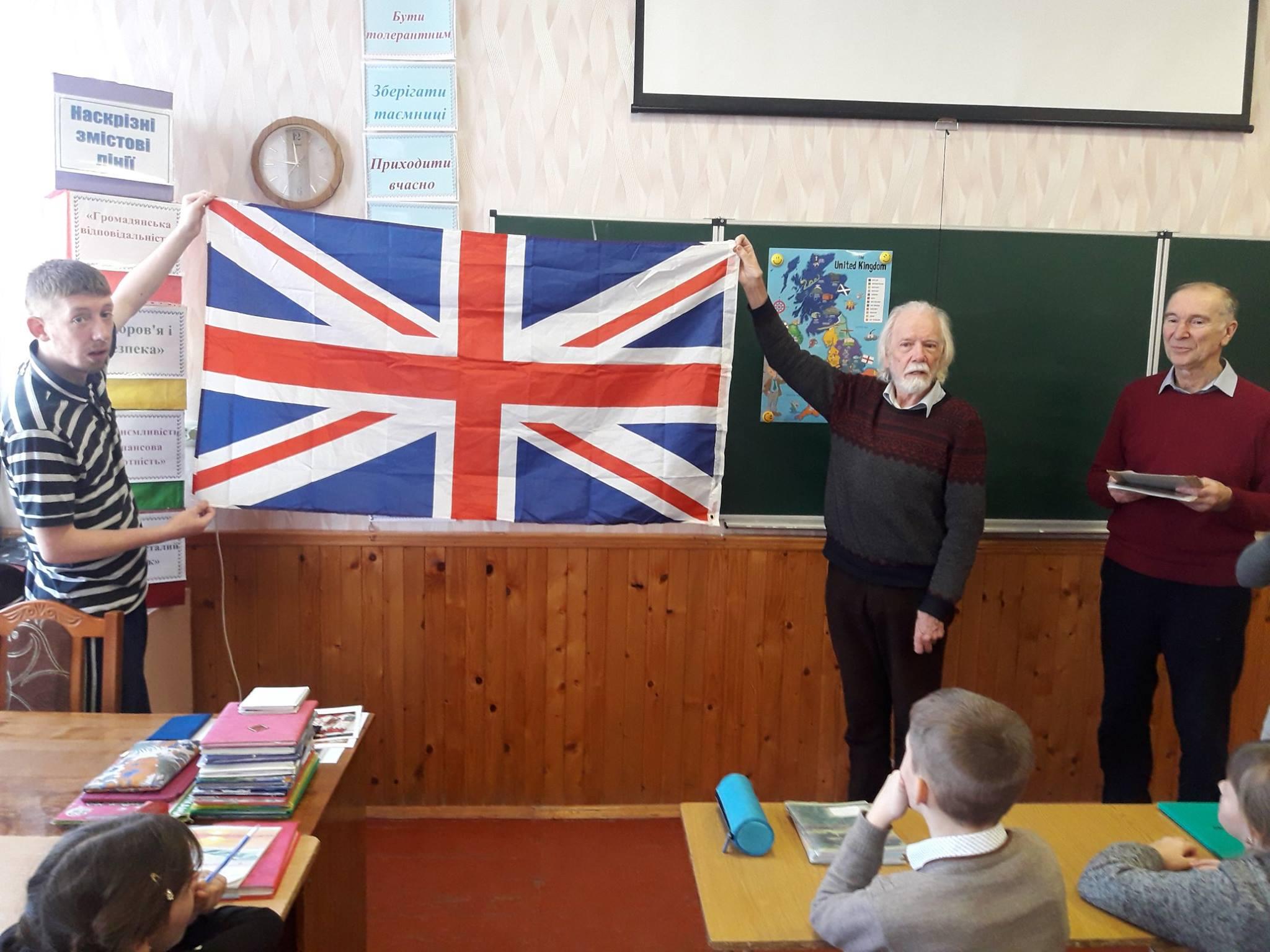 06 Громадяни Великої Британії завітали до школярів