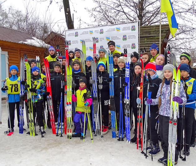 В Броварах пройшли обласні змагання з лижних гонок