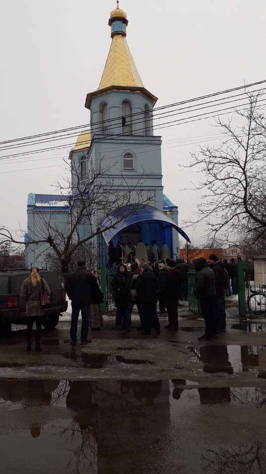 На Броварщині громада Погребів увійшла до помісної Православної Церкви України