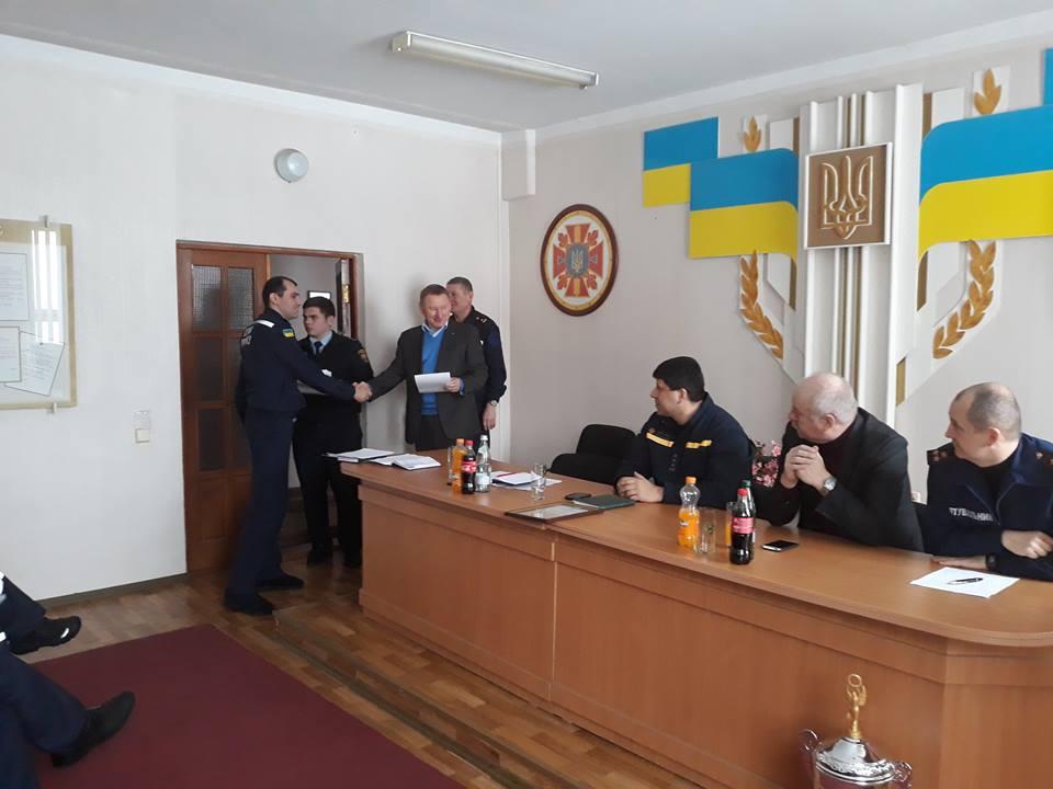 Броварські рятувальники кращі на Київщині за підсумками роботи минулого року
