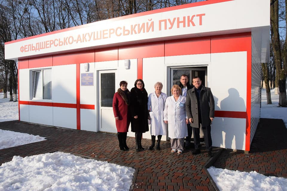 Новий ФАП – на радість селянам Васильківщини