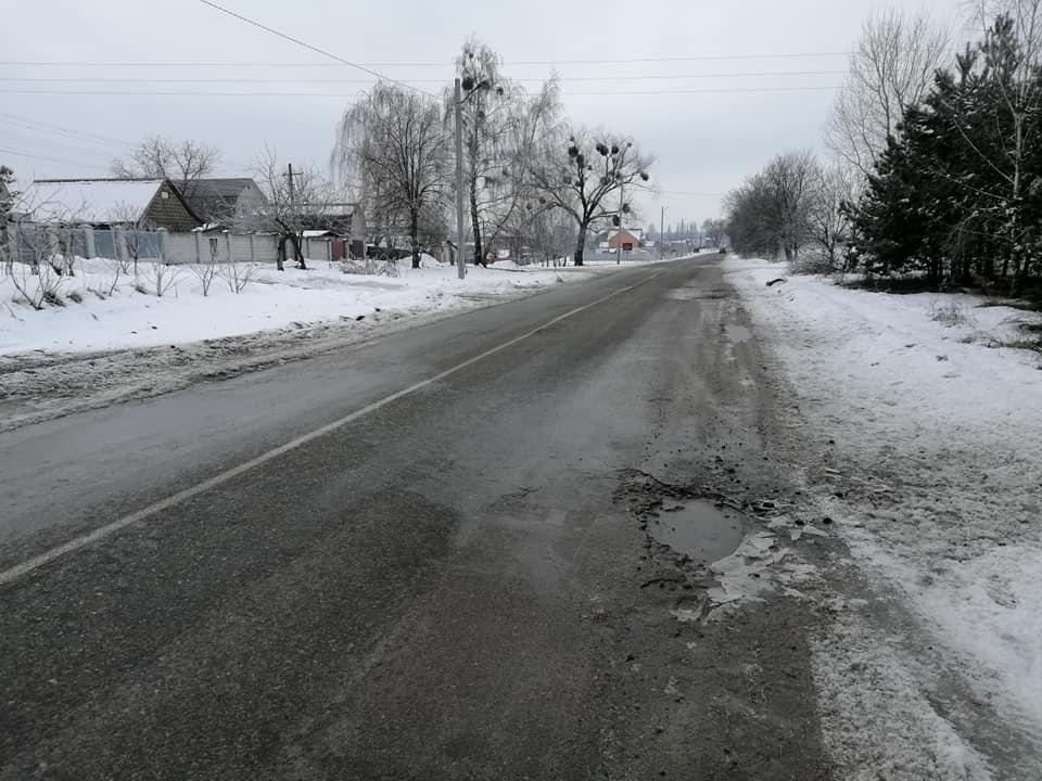 Жителі села Данилівка на Васильківщині скаржаться на жахливі дороги