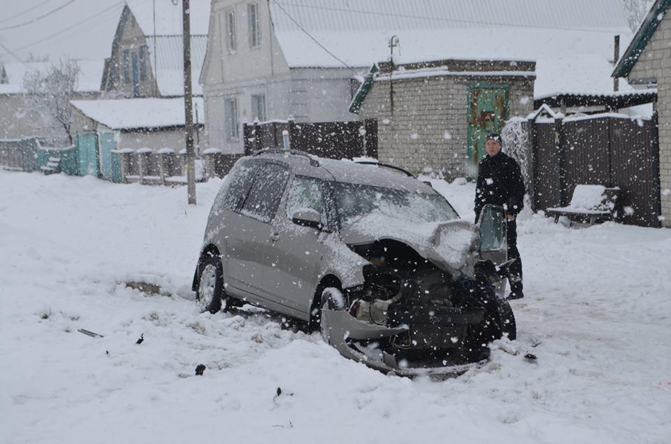 В Скибині на Броварщині сталася ДТП