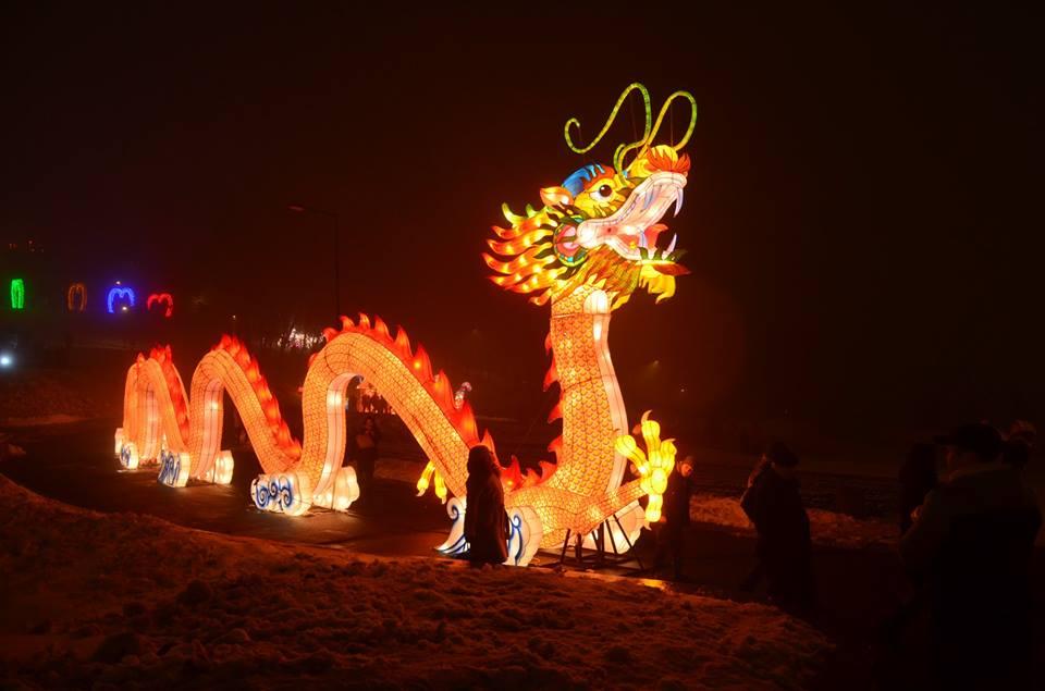 У Києві триває фестиваль Гігантських Китайських ліхтарів