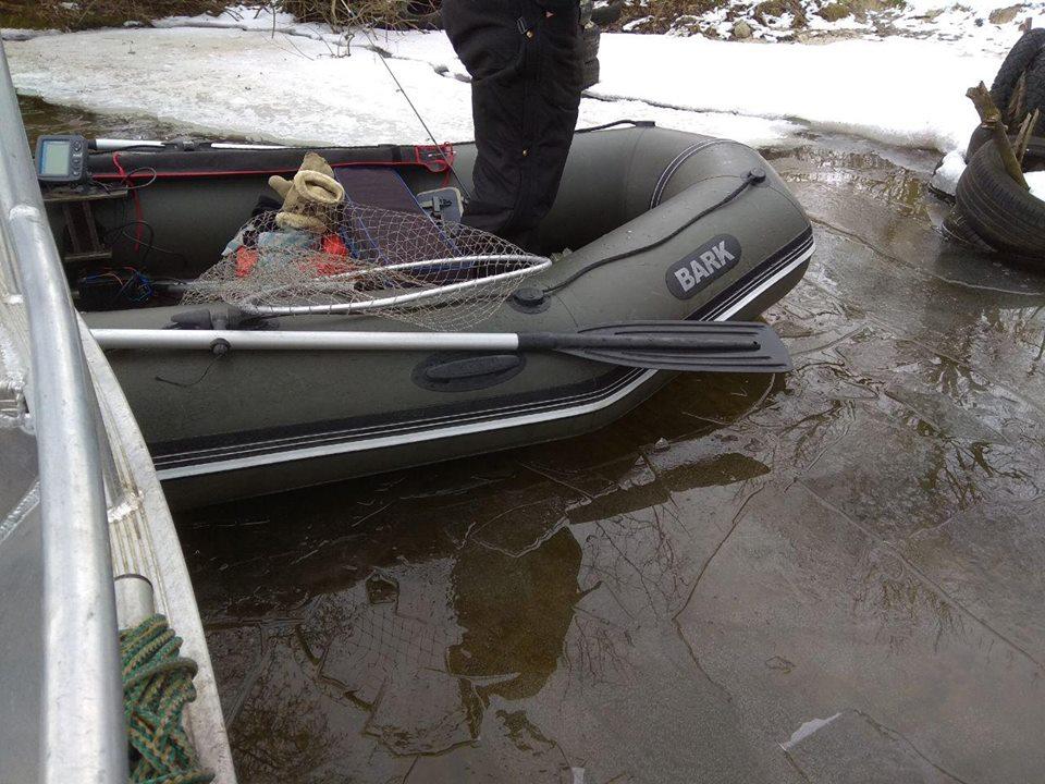 На Київщині ловлять рибних браконьєрів