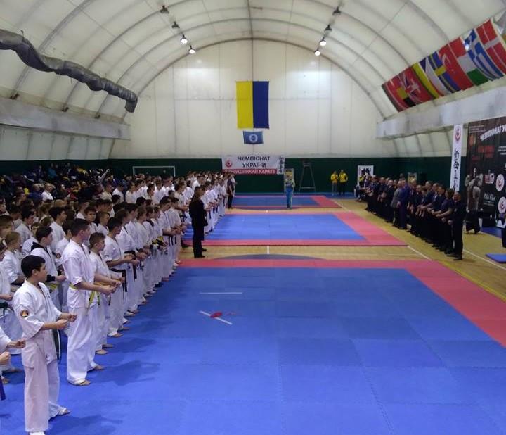 Фастівські каратисти здобули медалі на чемпіонаті України з карате кіокушинкай