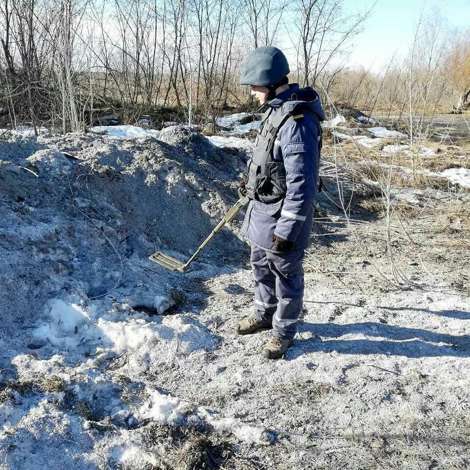 На Київщині знайшли потужну авіабомбу та артснаряд часів Другої світової війни