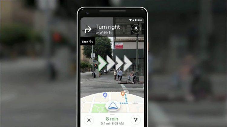 Google Maps отримає режим доповненої реальності