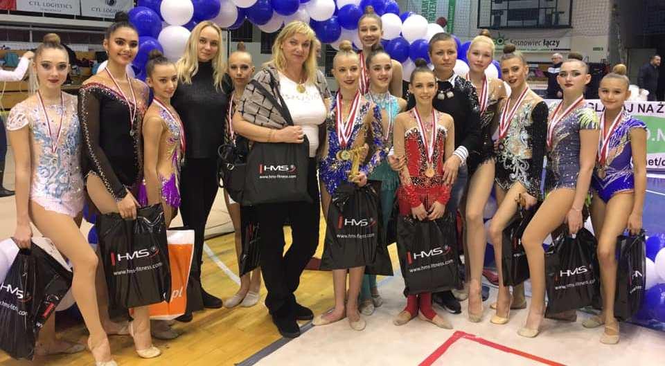 Білоцерківські вихованки вибороли медалі на змаганнях зі спортивної гімнастики у Польщі